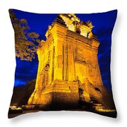 Nhan Tower.  Throw Pillow