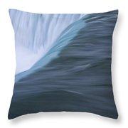 Niagara Horseshoe Falls Ontario. No 86 Throw Pillow