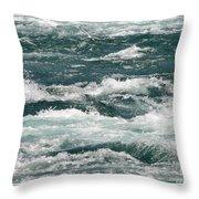 Niagara River Rapids 2 Throw Pillow