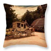Nice And Easy Throw Pillow