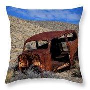 Nice Body Throw Pillow by Bob Christopher