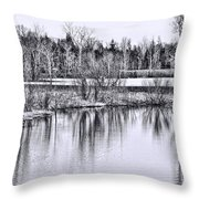 Nice Day For A Hike Throw Pillow
