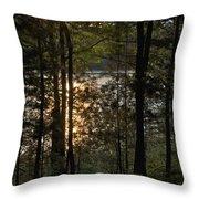 Nichols Lake Throw Pillow
