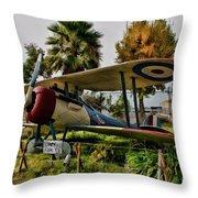 Nieuport 28 Throw Pillow
