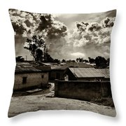 Nigerian Suburb Throw Pillow