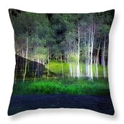 Night Magic I Throw Pillow
