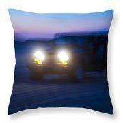 Night Rider Throw Pillow by John Greim