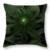 Night Secrets Of Rivers Throw Pillow