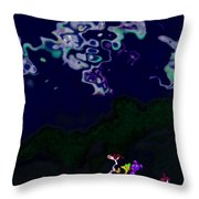 Night Travellers Throw Pillow