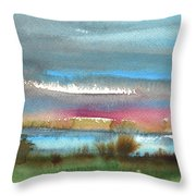 Nightfall 27 Throw Pillow