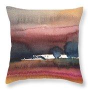 Nightfall 28 Throw Pillow
