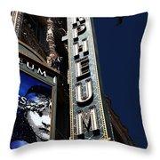 Nightfall At The Orpheum - San Francisco California - 5d17991 Throw Pillow