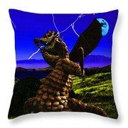 Nightmare After Midnight Throw Pillow