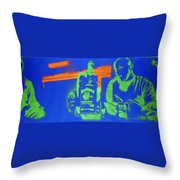 Nights Throw Pillow by Michael Ringwalt