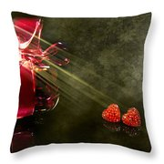 Nina Throw Pillow by Svetlana Sewell