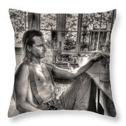 Ninety Six In The Shade Throw Pillow
