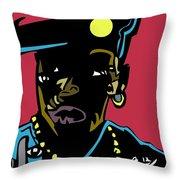 Nino Brown Full Color Throw Pillow