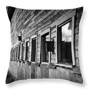 Nisqually Wildlife Refuge P18 The Barn II Throw Pillow