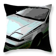 Nissan Pulsar Throw Pillow