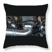 Nitrous Fuel Throw Pillow