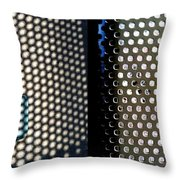 Nitty Griddy Throw Pillow