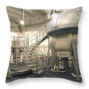 Nmr Spectrometer Throw Pillow