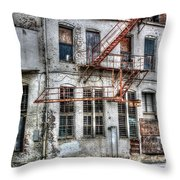 No Escape Throw Pillow
