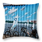 No Fossil Fuels Required Throw Pillow