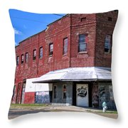 No Loitering Throw Pillow
