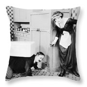 No Mother To Guide Him Throw Pillow