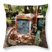 No Need To Rush Throw Pillow