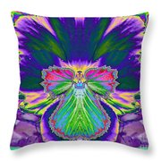 No Pansy Here Throw Pillow