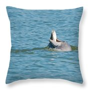 No Snook Limit For This Guy Throw Pillow