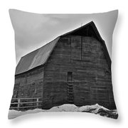 Noble Barn Throw Pillow