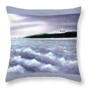 Nobska Point View Throw Pillow