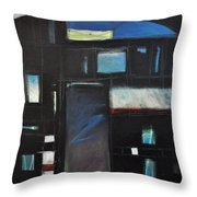 Nocturnal Fragments Throw Pillow