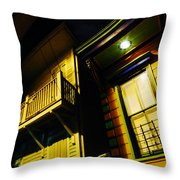 Nocturnal Nola Throw Pillow
