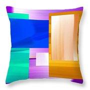 Nombre Abstrait 7 Throw Pillow