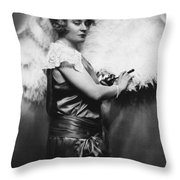 Nora Bayes (1880-1928) Throw Pillow