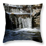 Normandale Falls Throw Pillow