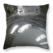 North American F-86e Throw Pillow