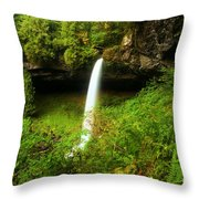North Falls Canyon Throw Pillow