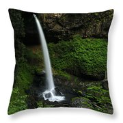 North Falls Oregon Throw Pillow