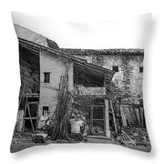 North Italy 4 Throw Pillow