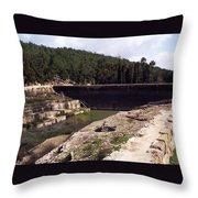 North Pool Throw Pillow
