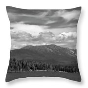 North Priest Lake II Throw Pillow