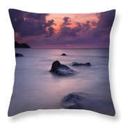 North Shore Breeze Throw Pillow