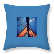 North Star Bar In Philadelphia Throw Pillow