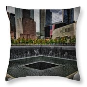 North Tower Memorial Throw Pillow