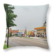 North Winooski Ave. Throw Pillow